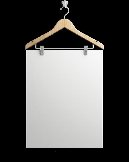 Poster A4 Weiß